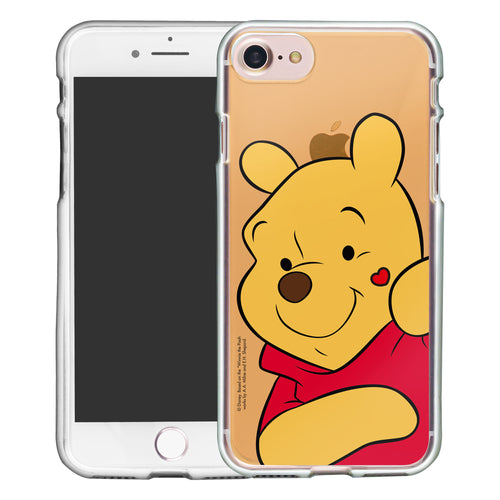 iPhone SE 2020 / iPhone 8 / iPhone 7 Case (4.7inch) Disney Clear TPU Cute Soft Jelly Cover - Color Pooh