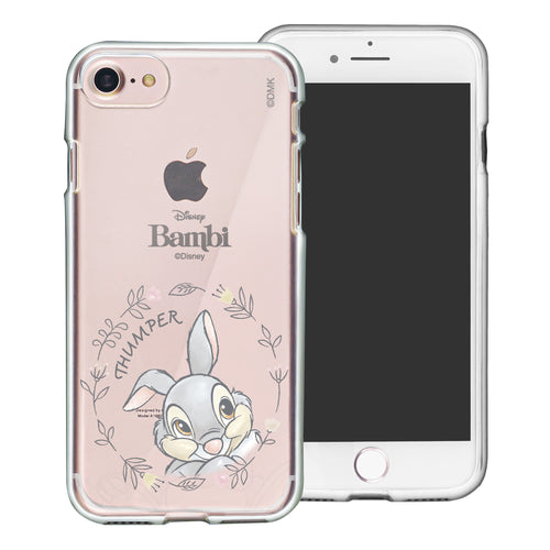 iPhone SE 2020 / iPhone 8 / iPhone 7 Case (4.7inch) Disney Clear TPU Cute Soft Jelly Cover - Face Thumper
