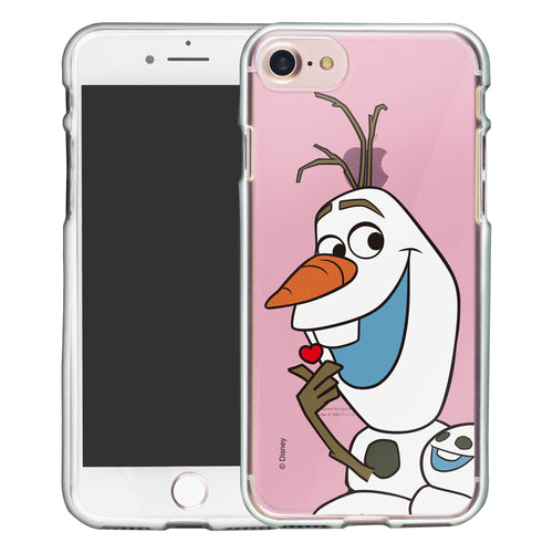 iPhone 5S / iPhone 5 / iPhone SE (2016) Case Disney Clear TPU Cute Soft Jelly Cover - Color Olaf