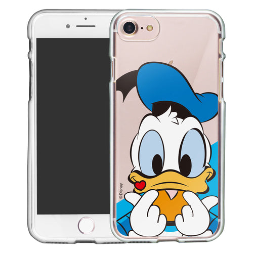 iPhone 5S / iPhone 5 / iPhone SE (2016) Case Disney Clear TPU Cute Soft Jelly Cover - Heart Donald Duck