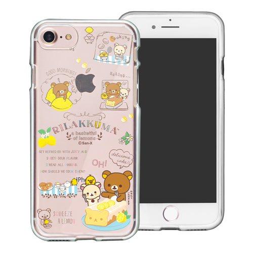 iPhone SE 2020 / iPhone 8 / iPhone 7 Case (4.7inch) Rilakkuma Clear TPU Cute Soft Jelly Cover - Rilakkuma Cooking