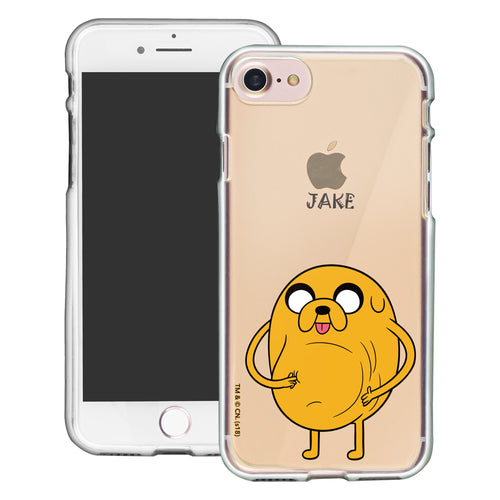 iPhone 8 Plus / iPhone 7 Plus Case Adventure Time Clear TPU Cute Soft Jelly Cover - Lovely Jake