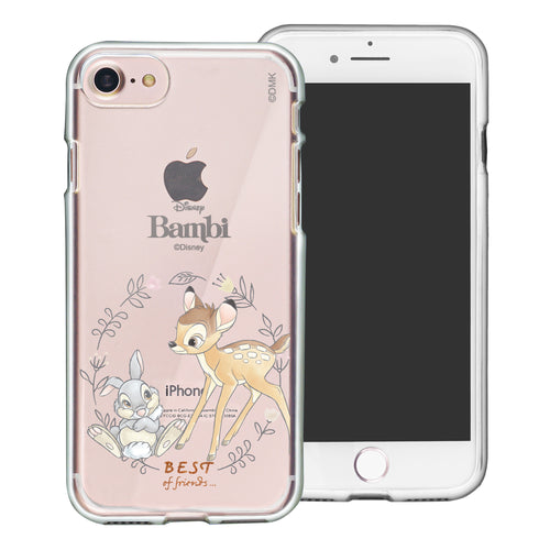 iPhone SE 2020 / iPhone 8 / iPhone 7 Case (4.7inch) Disney Clear TPU Cute Soft Jelly Cover - Full Bambi Thumper