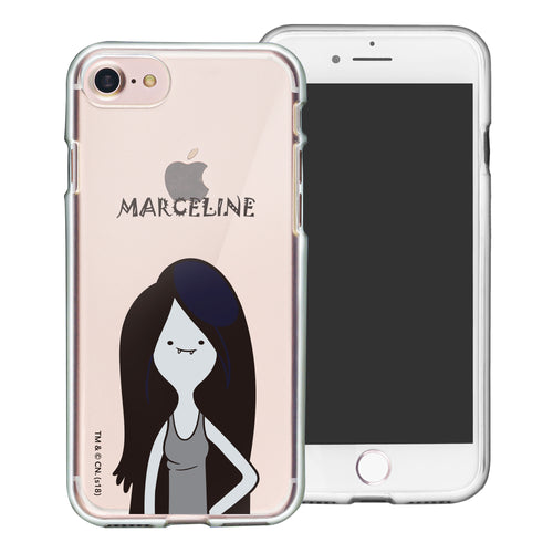 iPhone 8 Plus / iPhone 7 Plus Case Adventure Time Clear TPU Cute Soft Jelly Cover - Lovely Marceline