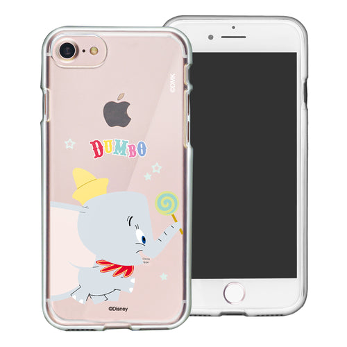 iPhone SE 2020 / iPhone 8 / iPhone 7 Case (4.7inch) Disney Clear TPU Cute Soft Jelly Cover - Dumbo Candy