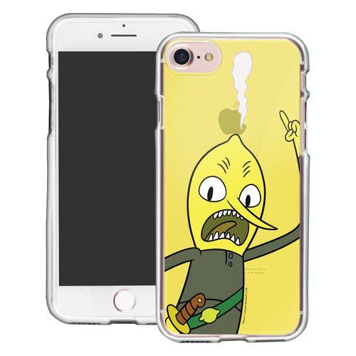 iPhone 8 Plus / iPhone 7 Plus Case Adventure Time Clear TPU Cute Soft Jelly Cover - Vivid Lemongrab