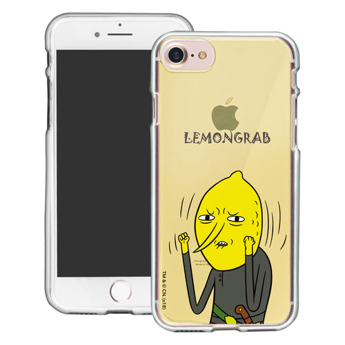 iPhone 8 Plus / iPhone 7 Plus Case Adventure Time Clear TPU Cute Soft Jelly Cover - Lovely Lemongrab