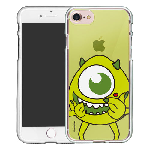 iPhone SE 2020 / iPhone 8 / iPhone 7 Case (4.7inch) Disney Clear TPU Cute Soft Jelly Cover - Color Mike