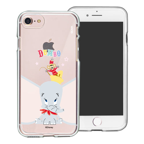 iPhone SE 2020 / iPhone 8 / iPhone 7 Case (4.7inch) Disney Clear TPU Cute Soft Jelly Cover - Dumbo Overhead