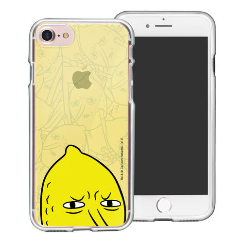 iPhone 8 Plus / iPhone 7 Plus Case Adventure Time Clear TPU Cute Soft Jelly Cover - Pattern Lemongrab Big