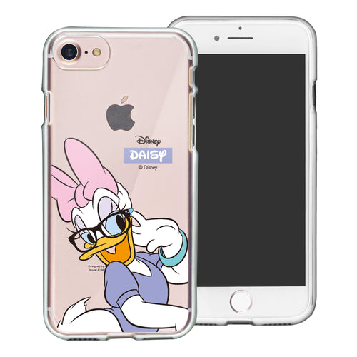 iPhone 5S / iPhone 5 / iPhone SE (2016) Case Disney Clear TPU Cute Soft Jelly Cover - Glasses Daisy Duck