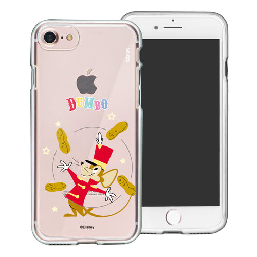 iPhone 6S Plus / iPhone 6 Plus Case Disney Clear TPU Cute Soft Jelly Cover - Dumbo Timothy
