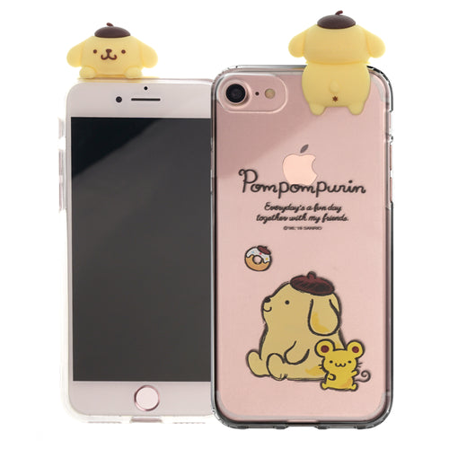 iPhone 6S / iPhone 6 Case (4.7inch) Pompompurin Cute Figure Doll Soft Jelly Cover for - Figure Pompompurin