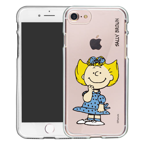 iPhone SE 2020 / iPhone 8 / iPhone 7 Case (4.7inch) PEANUTS Clear TPU Cute Soft Jelly Cover - Smile Sally