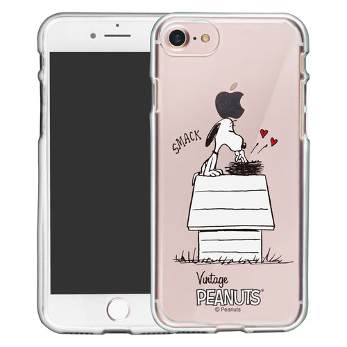 iPhone 6S / iPhone 6 Case (4.7inch) PEANUTS Clear TPU Cute Soft Jelly Cover - Smack Snoopy Birds