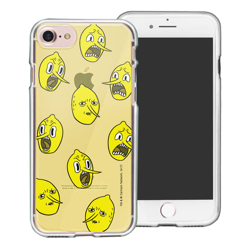 iPhone 8 Plus / iPhone 7 Plus Case Adventure Time Clear TPU Cute Soft Jelly Cover - Pattern Lemongrab
