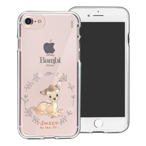 iPhone SE 2020 / iPhone 8 / iPhone 7 Case (4.7inch) Disney Clear TPU Cute Soft Jelly Cover - Full Bambi