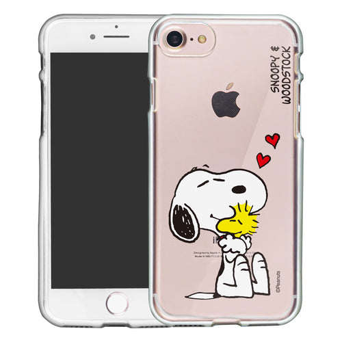 iPhone 6S / iPhone 6 Case (4.7inch) PEANUTS Clear TPU Cute Soft Jelly Cover - Smile Snoopy