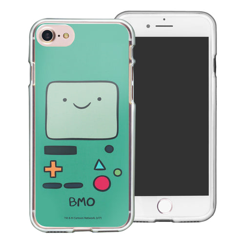 iPhone 8 Plus / iPhone 7 Plus Case Adventure Time Clear TPU Cute Soft Jelly Cover - Face Beemo (BMO)