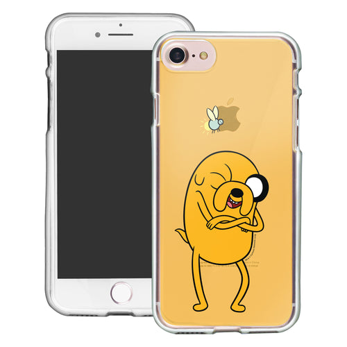 iPhone 8 Plus / iPhone 7 Plus Case Adventure Time Clear TPU Cute Soft Jelly Cover - Vivid Jake