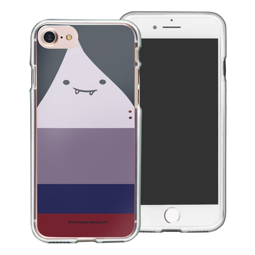 iPhone 8 Plus / iPhone 7 Plus Case Adventure Time Clear TPU Cute Soft Jelly Cover - Face Marceline Abadeer