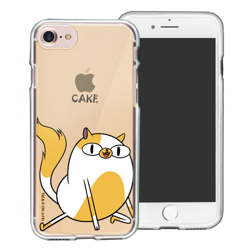 iPhone 8 Plus / iPhone 7 Plus Case Adventure Time Clear TPU Cute Soft Jelly Cover - Lovely Cake