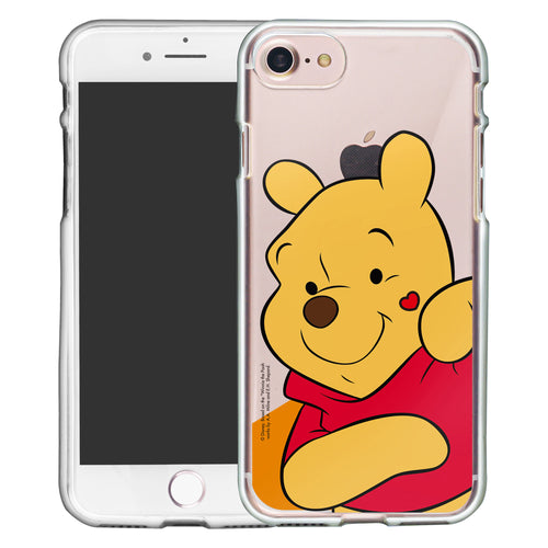 iPhone 5S / iPhone 5 / iPhone SE (2016) Case Disney Clear TPU Cute Soft Jelly Cover - Heart Pooh