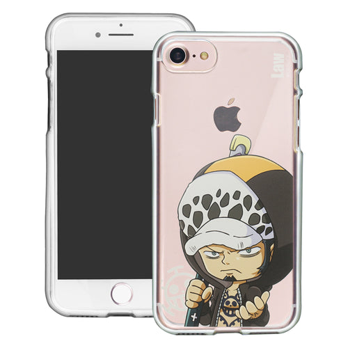 iPhone 6S Plus / iPhone 6 Plus Case ONE PIECE Clear TPU Cute Soft Jelly Cover - Mini Law