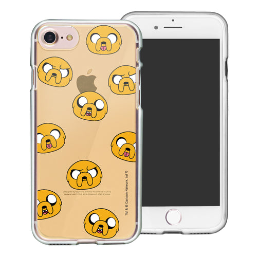 iPhone 8 Plus / iPhone 7 Plus Case Adventure Time Clear TPU Cute Soft Jelly Cover - Pattern Jake