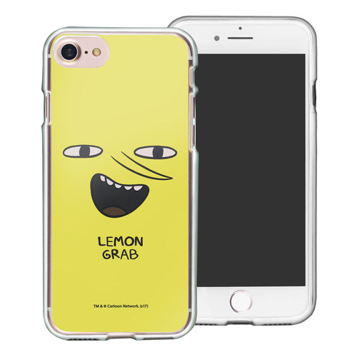 iPhone 8 Plus / iPhone 7 Plus Case Adventure Time Clear TPU Cute Soft Jelly Cover - Face Lemongrab