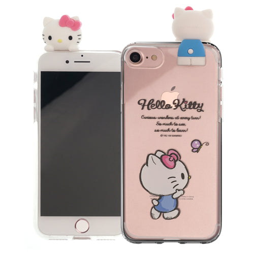 iPhone 6S / iPhone 6 Case (4.7inch) Hello Kitty Cute Figure Doll Soft Jelly Cover for - Figure Hello Kitty Walking