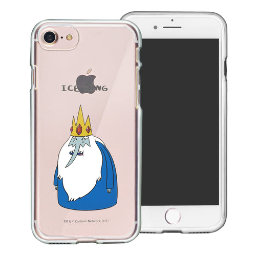 iPhone 8 Plus / iPhone 7 Plus Case Adventure Time Clear TPU Cute Soft Jelly Cover - Full Ice King
