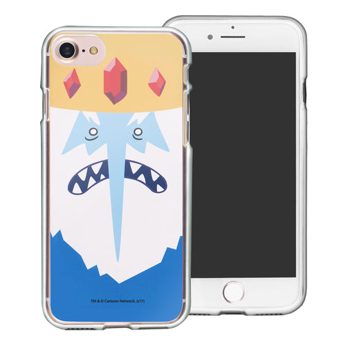 iPhone 8 Plus / iPhone 7 Plus Case Adventure Time Clear TPU Cute Soft Jelly Cover - Face Ice King