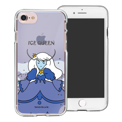 iPhone 8 Plus / iPhone 7 Plus Case Adventure Time Clear TPU Cute Soft Jelly Cover - Lovely Ice Queen