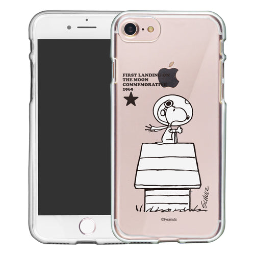 iPhone SE 2020 / iPhone 8 / iPhone 7 Case (4.7inch) PEANUTS Clear TPU Cute Soft Jelly Cover - Apollo House