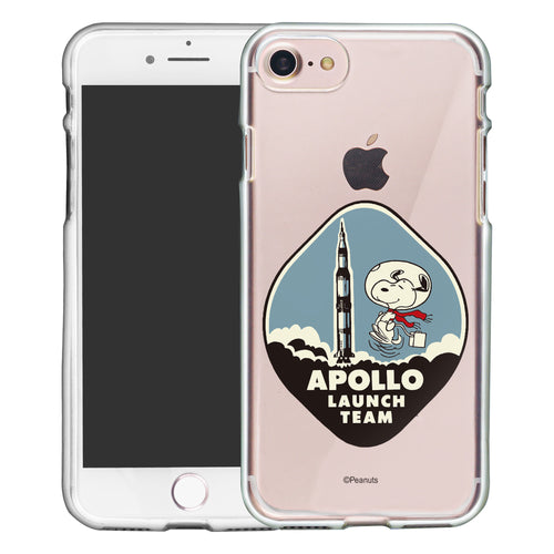 iPhone 6S / iPhone 6 Case (4.7inch) PEANUTS Clear TPU Cute Soft Jelly Cover - Apollo Rocket