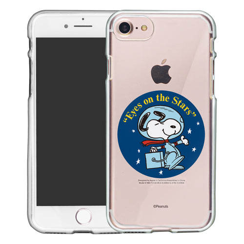 iPhone SE 2020 / iPhone 8 / iPhone 7 Case (4.7inch) PEANUTS Clear TPU Cute Soft Jelly Cover - Apollo Stars