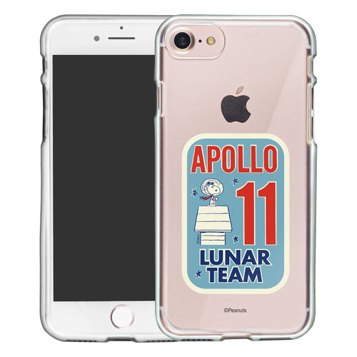 iPhone 6S / iPhone 6 Case (4.7inch) PEANUTS Clear TPU Cute Soft Jelly Cover - Apollo 11