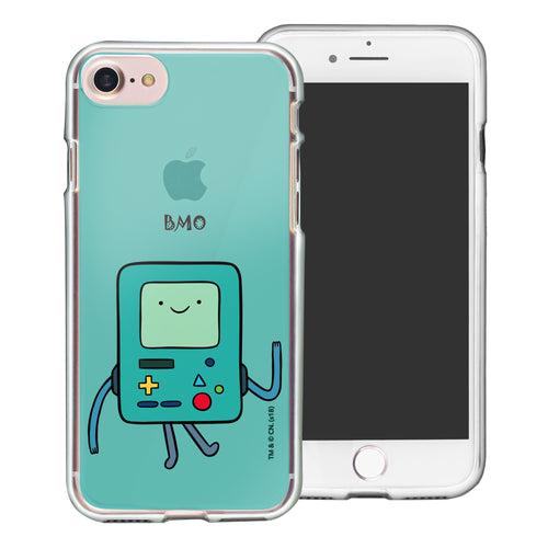 iPhone 8 Plus / iPhone 7 Plus Case Adventure Time Clear TPU Cute Soft Jelly Cover - Lovely BMO