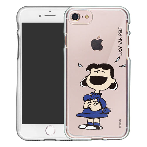 iPhone 6S / iPhone 6 Case (4.7inch) PEANUTS Clear TPU Cute Soft Jelly Cover - Smile Lucy