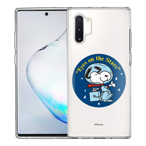 Galaxy Note10 Plus Case (6.8inch) PEANUTS Clear TPU Cute Soft Jelly Cover - Apollo Stars