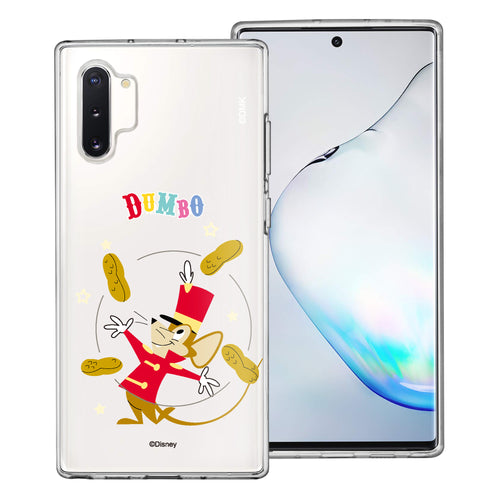 Galaxy Note10 Plus Case (6.8inch) Disney Clear TPU Cute Soft Jelly Cover - Dumbo Timothy