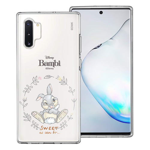 Galaxy Note10 Plus Case (6.8inch) Disney Clear TPU Cute Soft Jelly Cover - Full Thumper