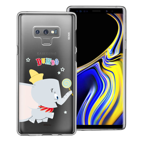 Galaxy Note9 Case Disney Clear TPU Cute Soft Jelly Cover - Dumbo Candy
