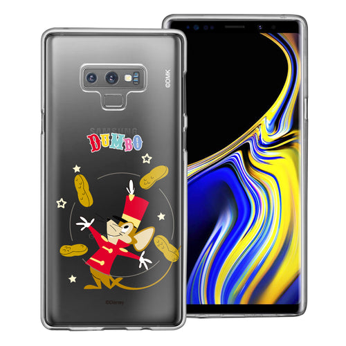 Galaxy Note9 Case Disney Clear TPU Cute Soft Jelly Cover - Dumbo Timothy