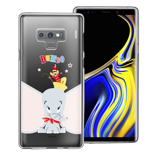 Galaxy Note9 Case Disney Clear TPU Cute Soft Jelly Cover - Dumbo Overhead