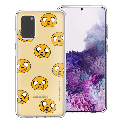 Galaxy Note20 Ultra Case (6.9inch) Adventure Time Clear TPU Cute Soft Jelly Cover - Pattern Jake