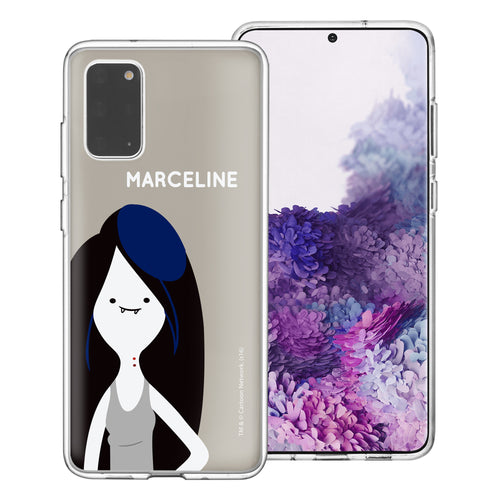 Galaxy Note20 Ultra Case (6.9inch) Adventure Time Clear TPU Cute Soft Jelly Cover - Cuty Marceline