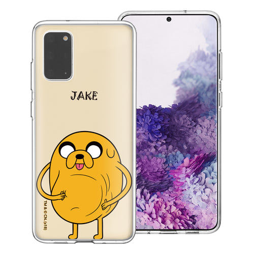 Galaxy Note20 Ultra Case (6.9inch) Adventure Time Clear TPU Cute Soft Jelly Cover - Lovely Jake