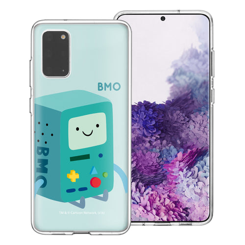 Galaxy Note20 Ultra Case (6.9inch) Adventure Time Clear TPU Cute Soft Jelly Cover - Cuty BMO